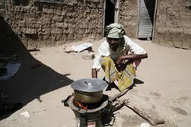 cooking on coals