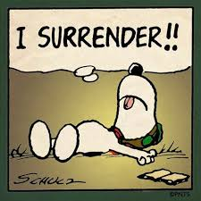 surrender snoopy
