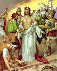 jesus stripped