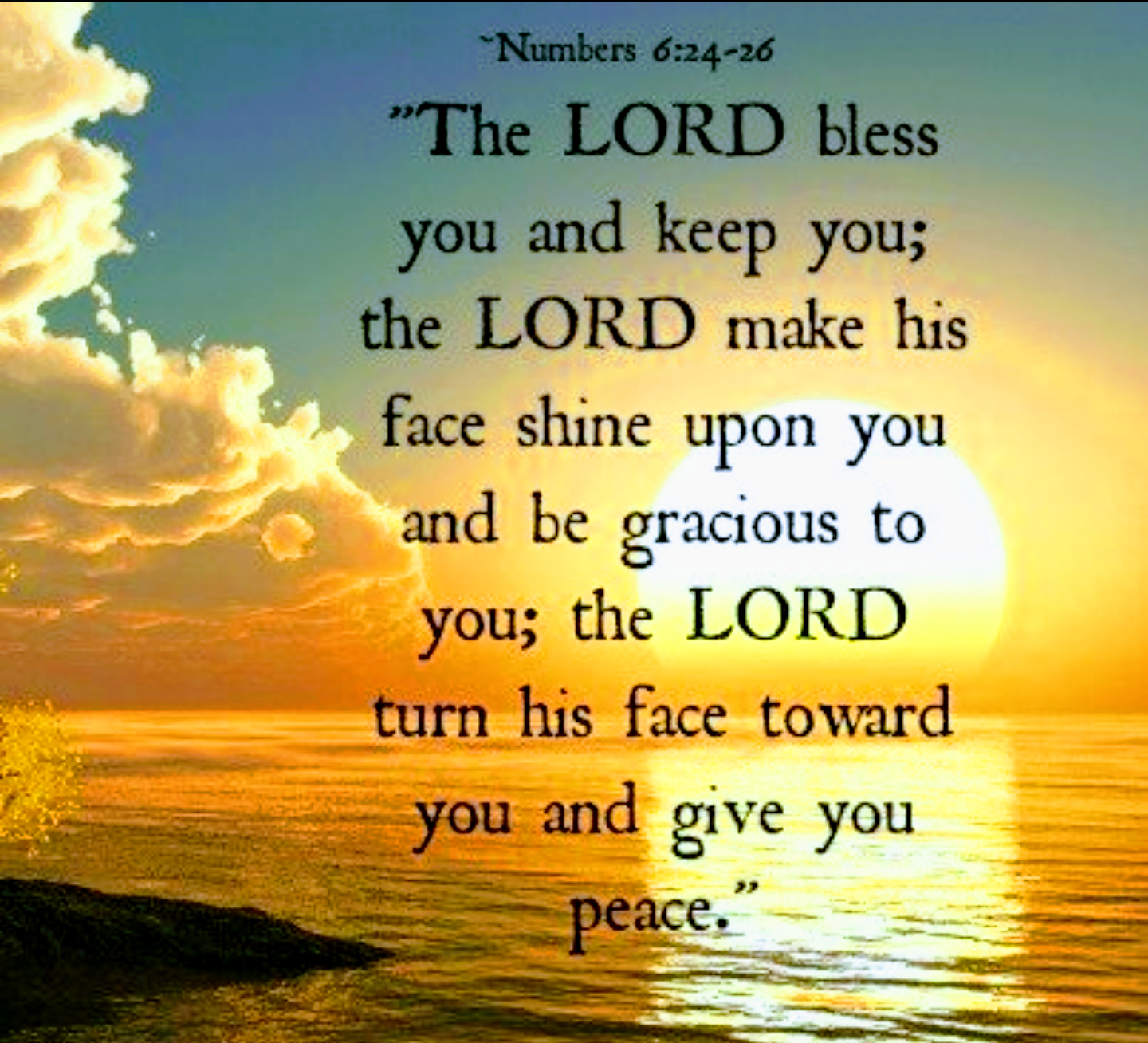 lord bless and keep you
